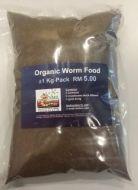 Organic Worm Food 1Kg